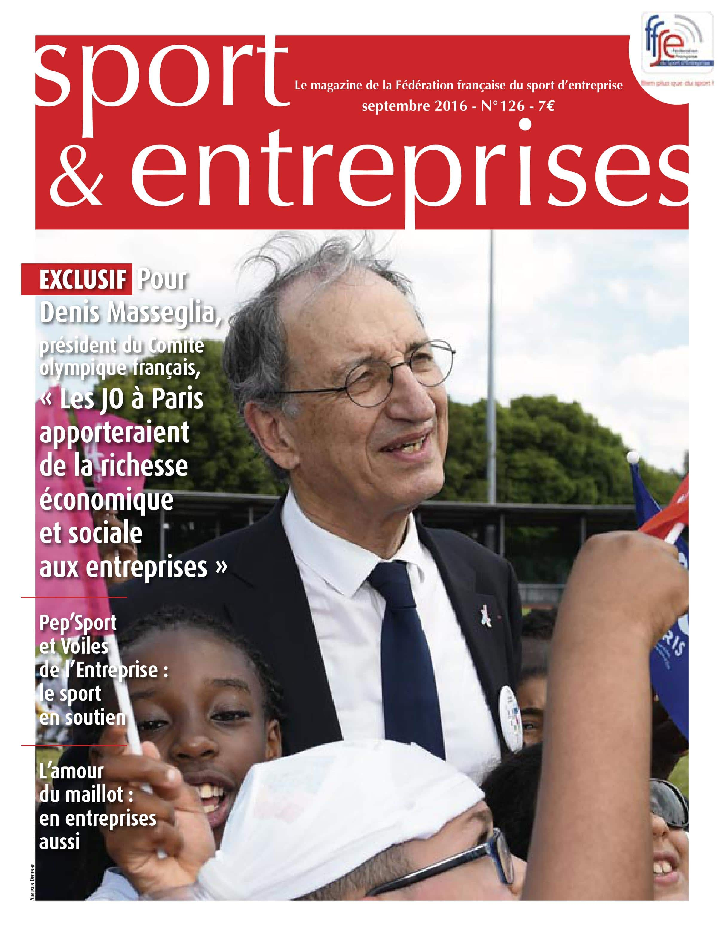 Magazine Sport et Entreprise 126