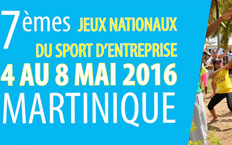Les préinscriptions pour les 7èmes Jeux Nationaux du Sport d'Entreprise en Martinique sont ouvertes !