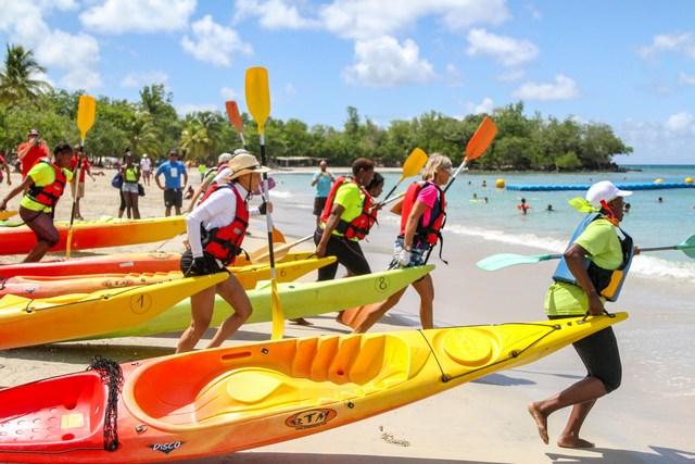 Kayak Jeux Nationaux du Sport d'Entreprise