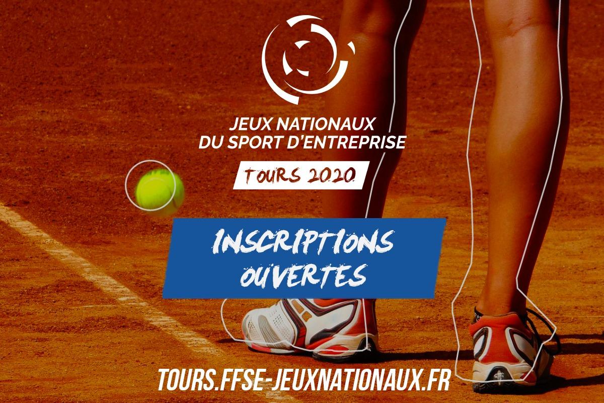 Inscription Jeux Nationaux Tours 2020