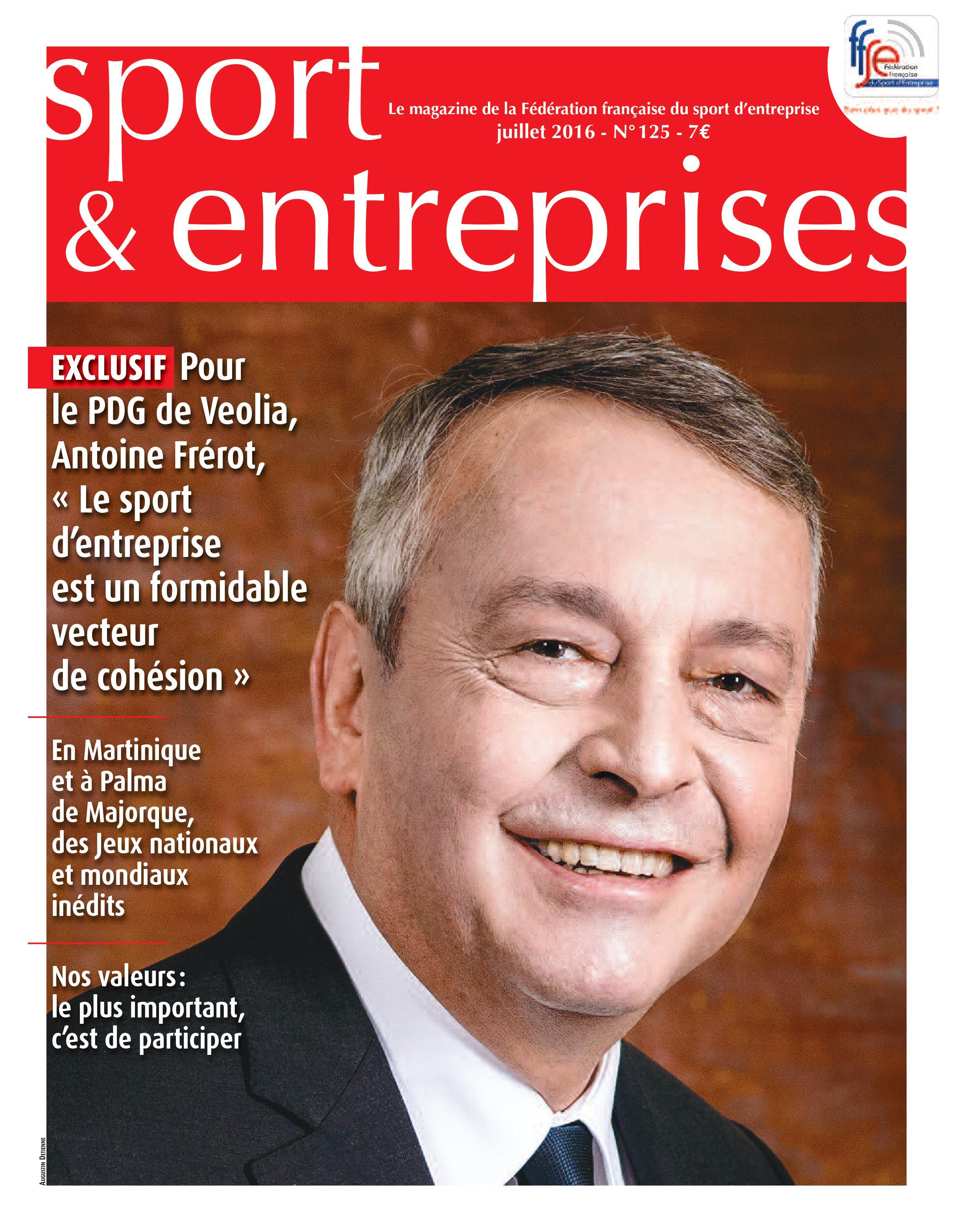 Magazine Sport et Entreprise 125