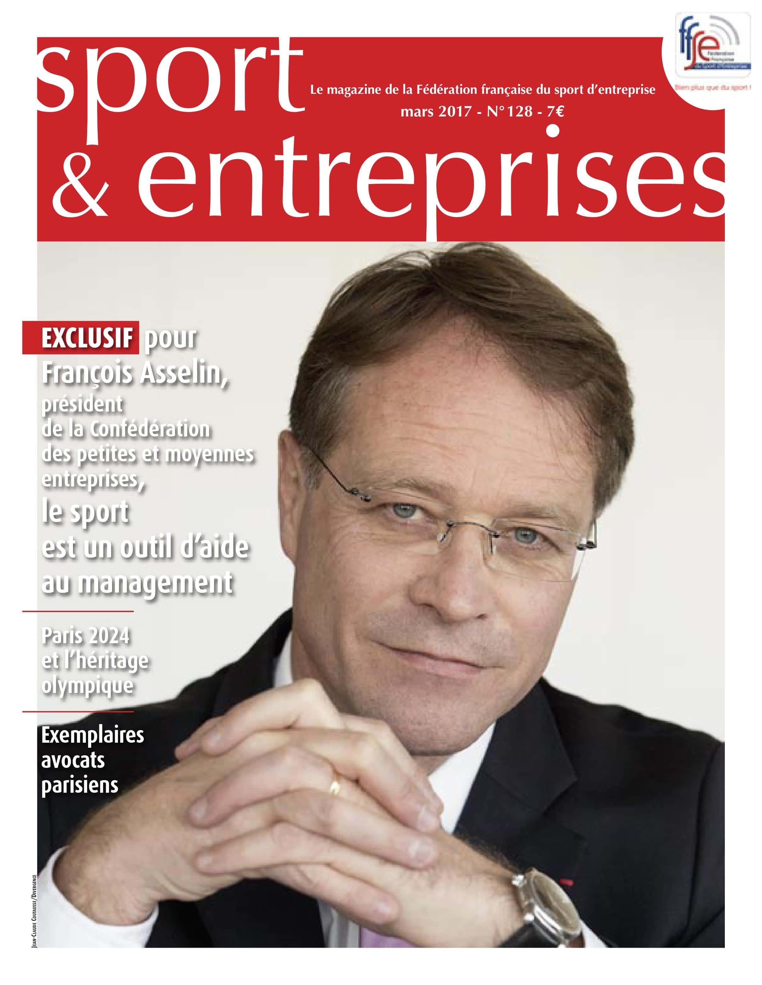 Magazine Sport et Entreprise 128