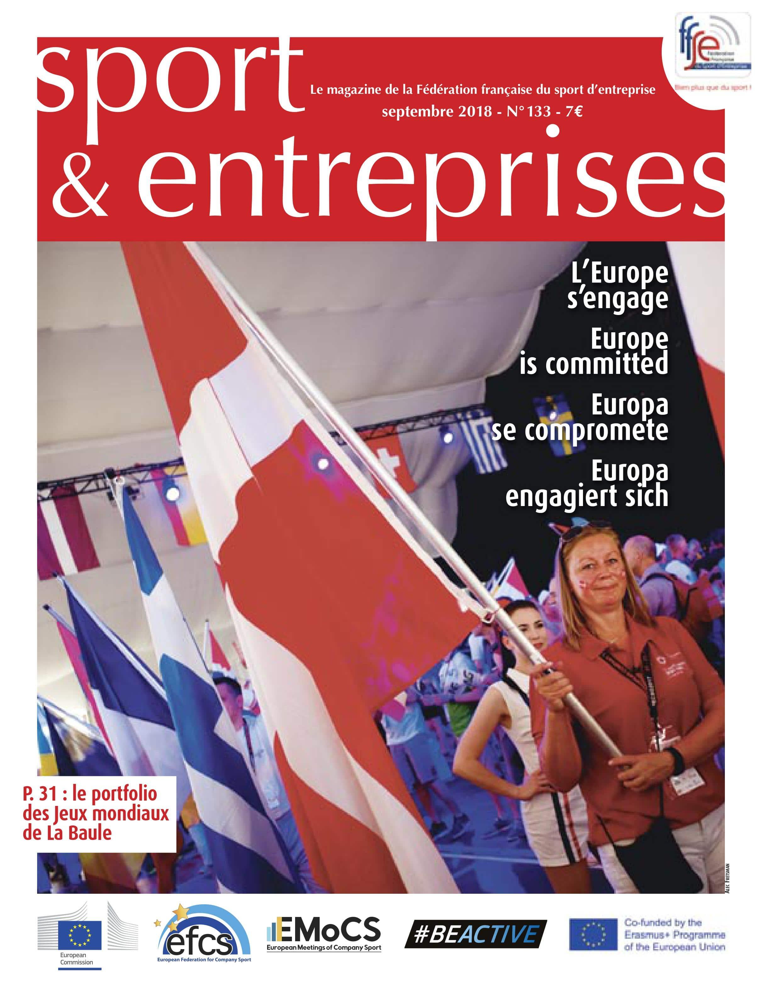 Magazine Sport et Entreprise 133