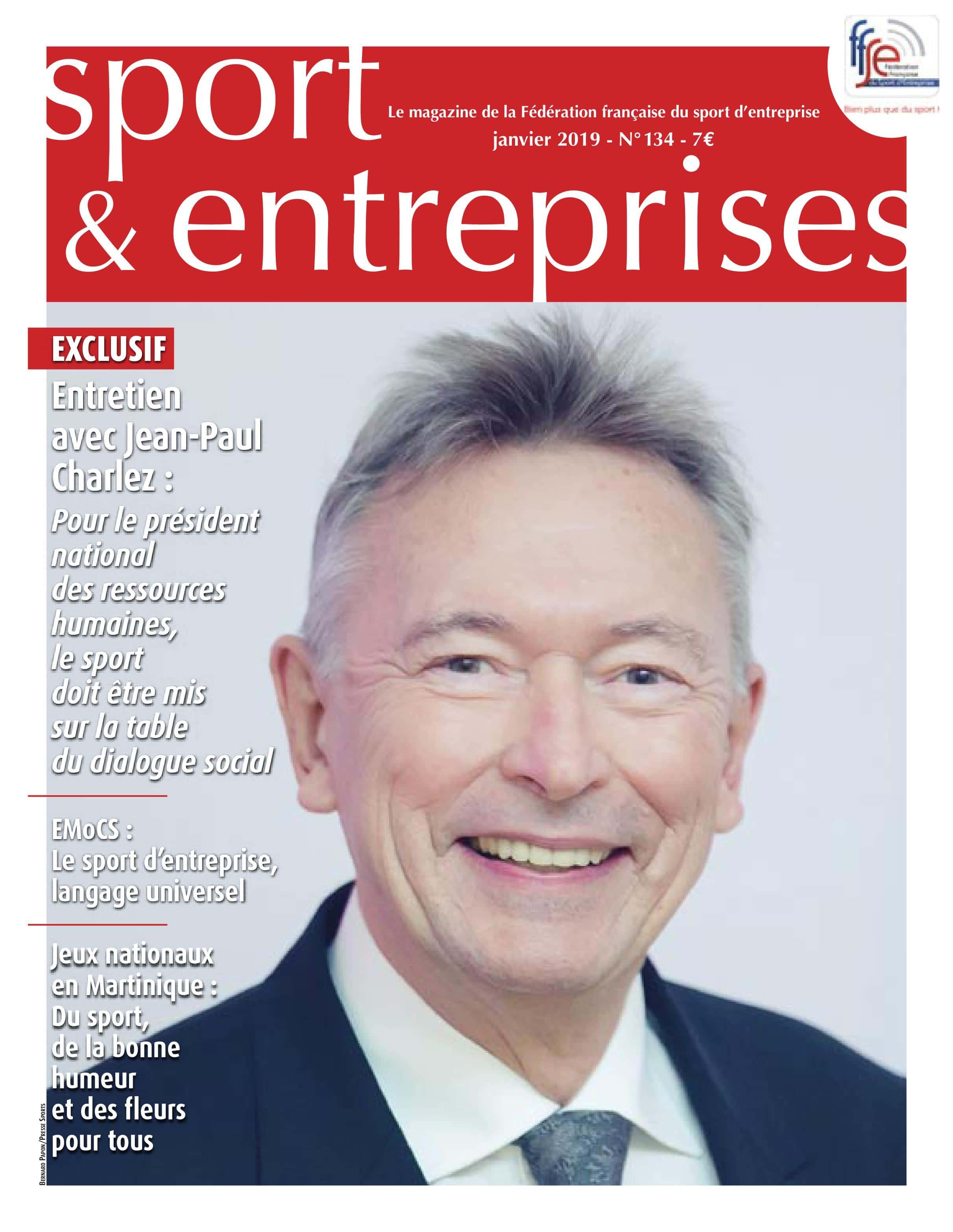Magazine Sport et Entreprise 134