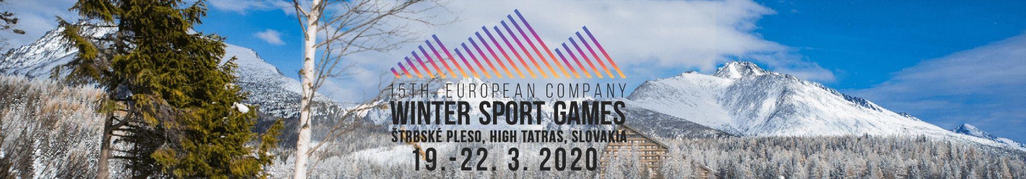 Jeux Européens d'hiver Slovaquie