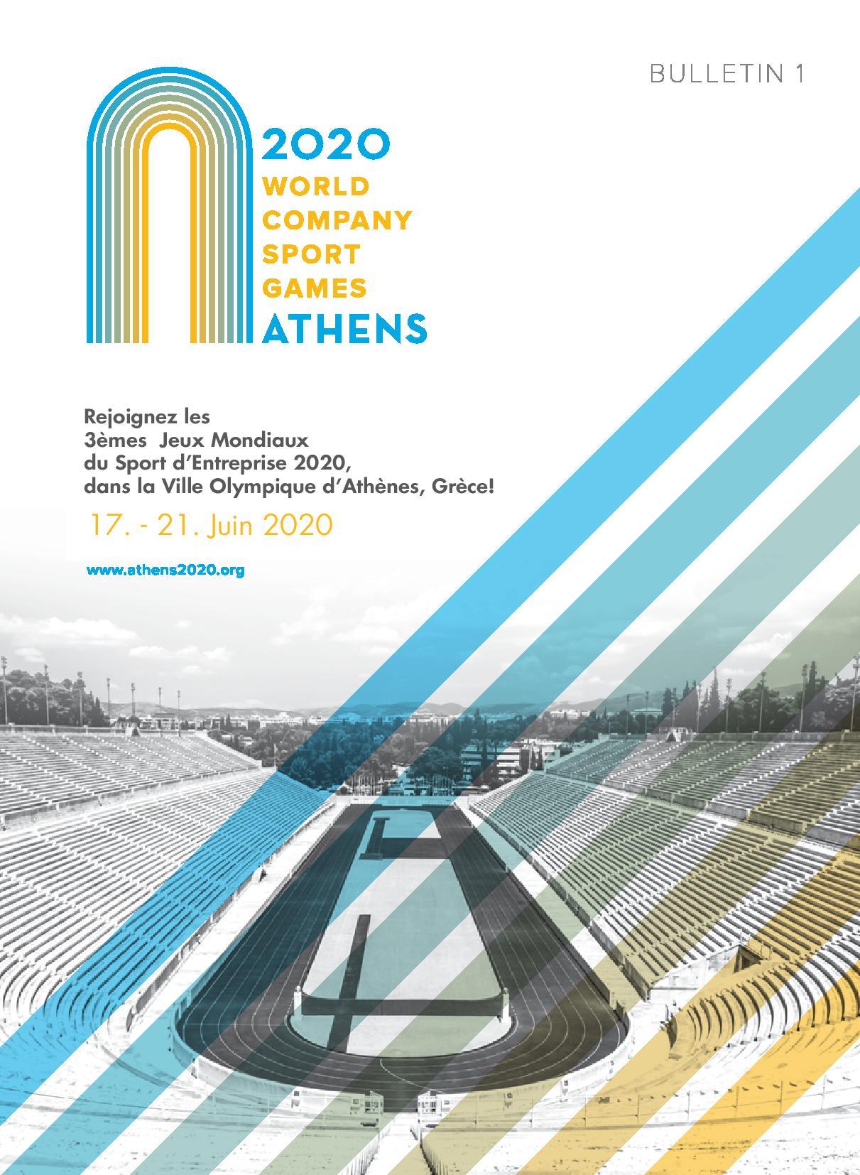 Jeux Mondiaux 2020 Athenes