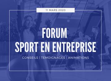 forum sport en entreprise